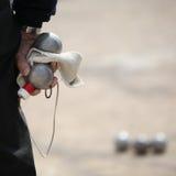Παιχνίδι Boules (Petanque) Στοκ εικόνες με δικαίωμα ελεύθερης χρήσης