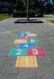 Παιχνίδι Hopscotch Στοκ Φωτογραφία