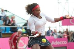 παιχνίδι Serena Ουίλιαμς στοκ εικόνες
