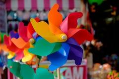 Παιχνίδια αέρα παραλιών στο κατάστημα Στοκ Φωτογραφίες