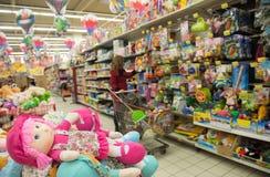 Παιχνίδια αγορών Στοκ φωτογραφίες με δικαίωμα ελεύθερης χρήσης