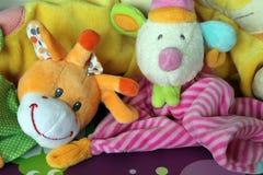 Παιχνίδια βελούδου παιδιών Στοκ Φωτογραφίες