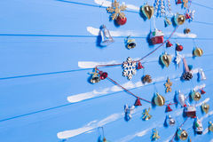 Παιχνίδια και συστάσεις Χριστουγέννων Στοκ εικόνα με δικαίωμα ελεύθερης χρήσης