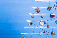 Παιχνίδια και συστάσεις Χριστουγέννων Στοκ Φωτογραφίες