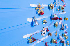 Παιχνίδια και συστάσεις Χριστουγέννων Στοκ Φωτογραφία