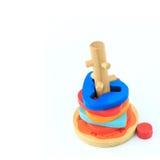 παιχνίδια ξύλινα Στοκ Εικόνα