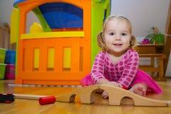 παιχνίδια παιχνιδιού μωρών Στοκ Φωτογραφία