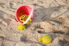 Παιχνίδια παραλιών στην παραλία Στοκ φωτογραφίες με δικαίωμα ελεύθερης χρήσης