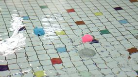 Παιχνίδια στη λίμνη απόθεμα βίντεο