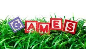 παιχνίδια υπαίθρια Στοκ εικόνες με δικαίωμα ελεύθερης χρήσης