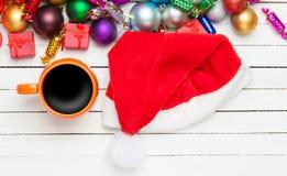 Παιχνίδια φλυτζανιών και Χριστουγέννων Στοκ Εικόνες