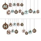 παιχνίδια Χριστουγέννων Στοκ εικόνες με δικαίωμα ελεύθερης χρήσης
