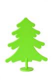 Παιχνίδια χριστουγεννιάτικων δέντρων φιαγμένα από πλαστικό Στοκ Φωτογραφίες