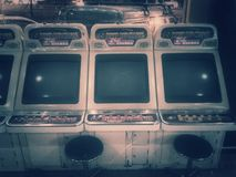 Παιχνίδια Arcade αναδρομικά Στοκ Φωτογραφία
