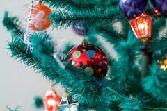 Παιχνίδια fir-tree Στοκ Εικόνες