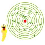 Παιχνίδι λαβυρίνθου Στοκ εικόνα με δικαίωμα ελεύθερης χρήσης