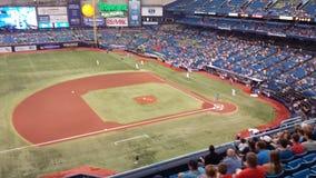 Παιχνίδι ακτίνων του Tampa Bay Στοκ εικόνα με δικαίωμα ελεύθερης χρήσης
