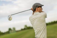 παιχνίδι ατόμων γκολφ Στοκ Φωτογραφία