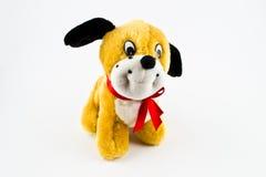 Παιχνίδι βελούδου για τα παιδιά - σκυλί Στοκ Εικόνα