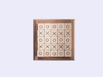 Παιχνίδι ΒΟΔΙΩΝ, που γίνεται από τον ξύλινο φραγμό Στοκ φωτογραφία με δικαίωμα ελεύθερης χρήσης