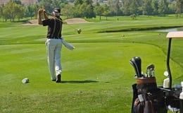 παιχνίδι γκολφ Στοκ φωτογραφία με δικαίωμα ελεύθερης χρήσης