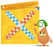 Παιχνίδι επιτραπέζιων παιχνιδιών με με απεικόνιση αποθεμάτων