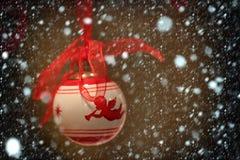 Παιχνίδι διακοσμήσεων Χριστουγέννων Στοκ εικόνες με δικαίωμα ελεύθερης χρήσης