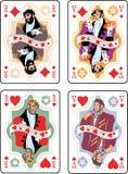 παιχνίδι καρτών Στοκ εικόνες με δικαίωμα ελεύθερης χρήσης