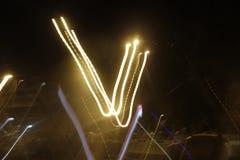 Παιχνίδι με τους φωτεινούς σηματοδότες Στοκ Φωτογραφία