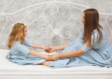 παιχνίδι μητέρων κορών Στοκ Φωτογραφία