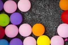 Παιχνίδι μπαλονιών σε μια έκθεση Στοκ Εικόνα