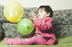 παιχνίδι μπαλονιών Στοκ Εικόνες