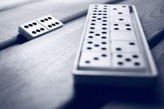 Παιχνίδι ντόμινο Στοκ φωτογραφία με δικαίωμα ελεύθερης χρήσης
