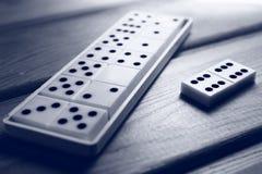 Παιχνίδι ντόμινο Στοκ εικόνες με δικαίωμα ελεύθερης χρήσης