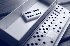 Παιχνίδι ντόμινο Στοκ φωτογραφίες με δικαίωμα ελεύθερης χρήσης