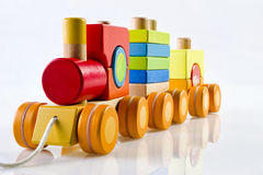 παιχνίδι ξύλινο Στοκ εικόνα με δικαίωμα ελεύθερης χρήσης