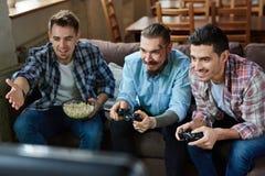 Παιχνίδι ομάδας Στοκ εικόνα με δικαίωμα ελεύθερης χρήσης