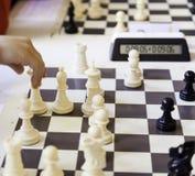 παιχνίδι παιχνιδιών σκακι&omi Στοκ φωτογραφία με δικαίωμα ελεύθερης χρήσης