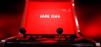 Παιχνίδι παιχνιδιών Arcade Στοκ Φωτογραφία