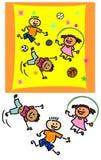 Παιχνίδι παιδιών Στοκ Φωτογραφίες