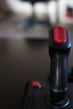 Παιχνίδι πηδαλίων arcade για τον υπολογιστή και κονσόλα από 80& x27 s Μαύρο γ Στοκ φωτογραφίες με δικαίωμα ελεύθερης χρήσης