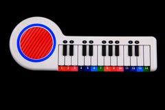 Παιχνίδι πιάνων χρώματος Στοκ εικόνες με δικαίωμα ελεύθερης χρήσης