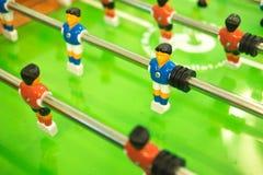 Παιχνίδι ποδοσφαίρου επιτραπέζιου ποδοσφαίρου Στοκ φωτογραφία με δικαίωμα ελεύθερης χρήσης