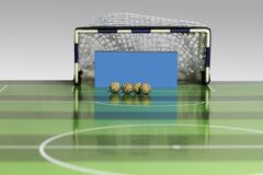 Παιχνίδι ποδοσφαίρου κουμπιών Στοκ εικόνες με δικαίωμα ελεύθερης χρήσης