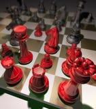 Παιχνίδι σκακιού στρατηγικής Στοκ Εικόνες