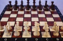 Παιχνίδι σκακιού. Στοκ φωτογραφία με δικαίωμα ελεύθερης χρήσης