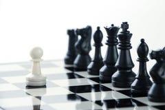 Παιχνίδι σκακιού Στοκ φωτογραφίες με δικαίωμα ελεύθερης χρήσης