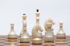 Παιχνίδι σκακιού Στοκ Φωτογραφίες