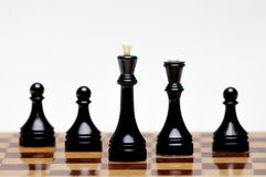 Παιχνίδι σκακιού Στοκ Φωτογραφία