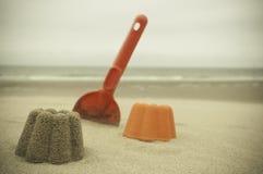 Παιχνίδι στην παραλία στοκ εικόνα